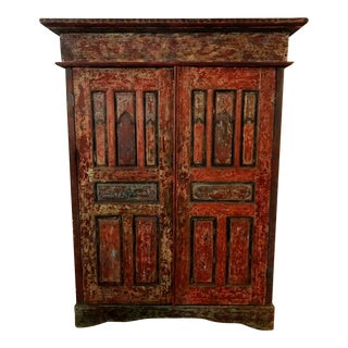 1980s Vintage Moroccan Armoire For Sale