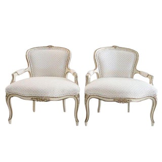 Louis XV Stlye Child's Bergeres - A Pair For Sale