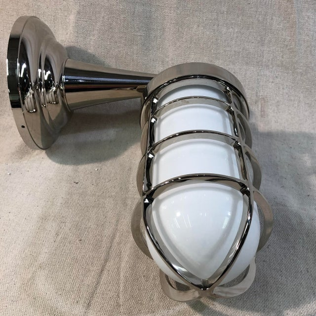 Contemporary Tech Lighting Admiral Simple Wall Sconce For Sale - Image 3 of 10