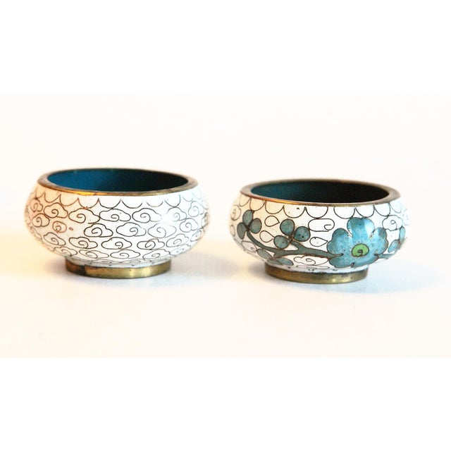 Late 20th Century Salt Dishes and Pepper Shakers - Set of 10 For Sale - Image 5 of 6