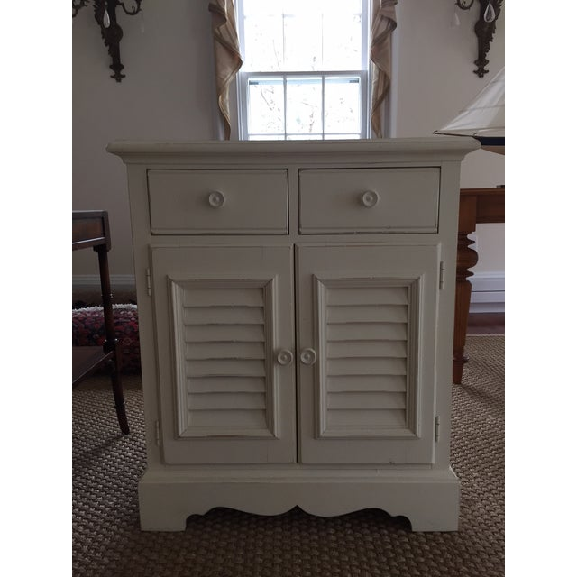 Cottage Seaside Retreat Coastal Nightstands - a Pair For Sale - Image 3 of 7