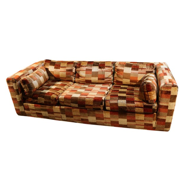 Mid-Century Milo Baughman Style Sofa - Image 2 of 10