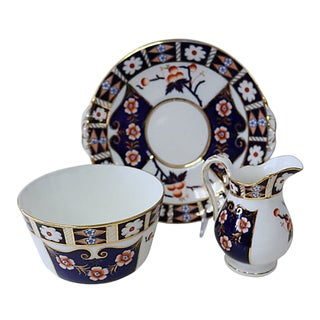 Antique Porcelain Serving Set - 3 Pieces