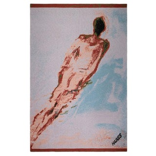 Richard Haines Throw Cashmere Blanket, 51' X 71' For Sale