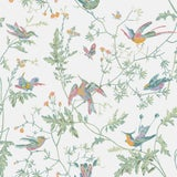 Image of Cole & Son Humming Birds Wallpaper For Sale