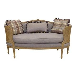 French Louis XV Style Loveseat / Settee For Sale