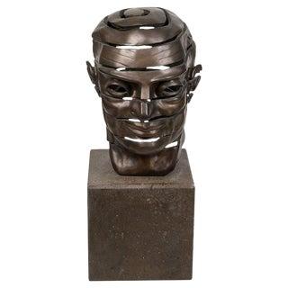 20th Century Gotzon Bronze Bust For Sale