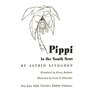 """1961 """"Pippi in the South Seas"""" Collectible Book Preview"""