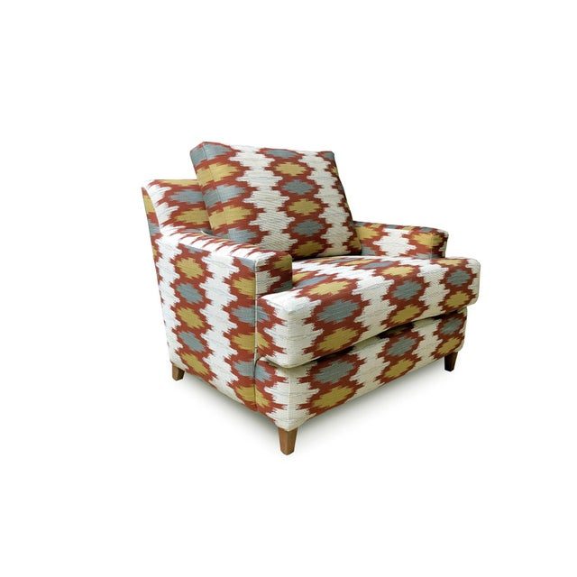 2010s Custom South Western Arm Chair For Sale - Image 5 of 5