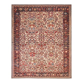 """Antique Malayer Rug 8'6"""" X 10'6"""" For Sale"""
