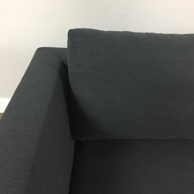 Modern Gray Left Chaise Sectional Sofa - Image 4 of 8
