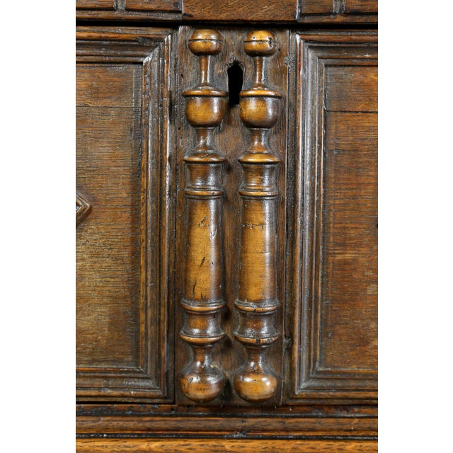 Jacobean Oak Chest of Drawers For Sale In Boston - Image 6 of 12