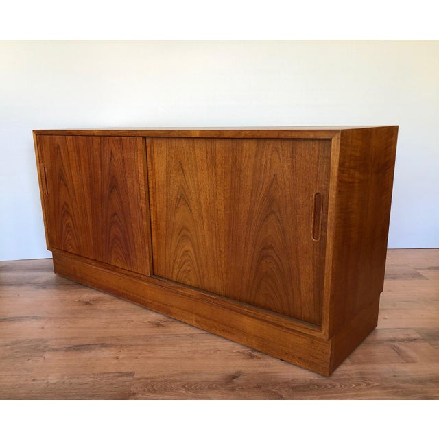 1960s Paol Hundevad Restored Compact Teak Credenza For Sale - Image 12 of 12