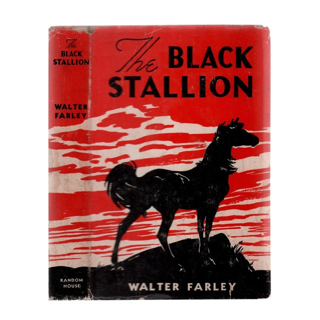 """1941 """"The Black Stallion"""" Collectible Book For Sale"""