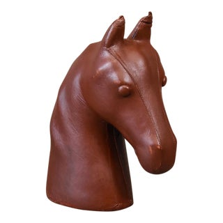 Large Leather Dimitri Omersa Style Horse Head