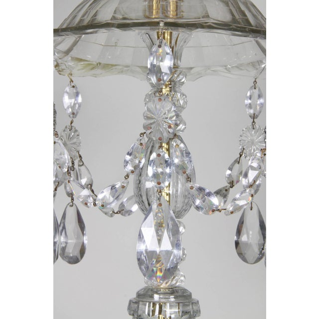 Anglo-Irish Cut-Glass Chandelier For Sale - Image 4 of 10