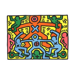 Keith Haring, Untitled (1985), Edition: 1000, Offset Lithograph For Sale