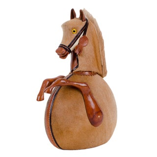 Vintage Horse Flask For Sale