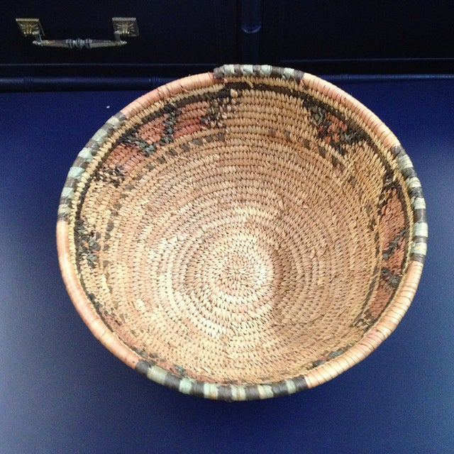 Natural African Woven Basket - Image 3 of 3