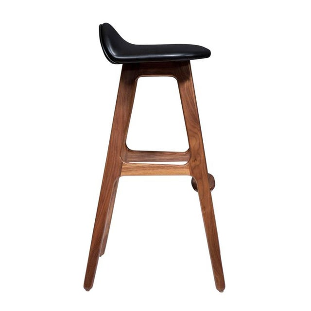 Customizable Set of Four Boyd Stools For Sale - Image 4 of 4