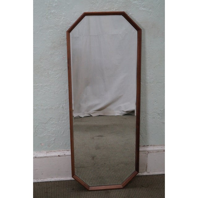 George Nelson for Herman Miller Walnut Frame Wall Mirrors - Pair - Image 2 of 10