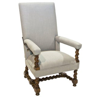 18th Century Vintage Louis XIV Armchair For Sale