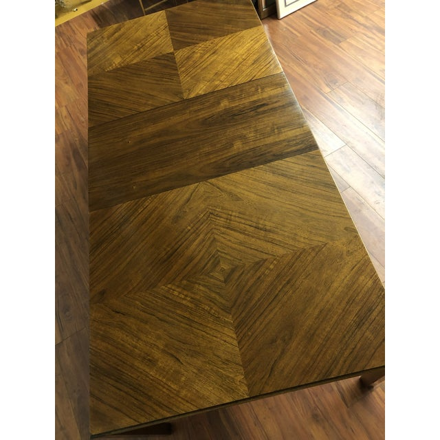 Maurice Villency Expandable Dining Table For Sale - Image 12 of 13