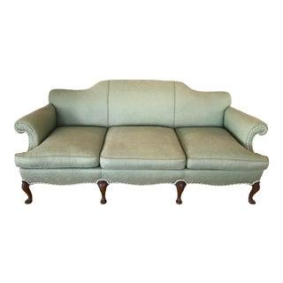 1950s Vintage Camel Back Sofa For Sale