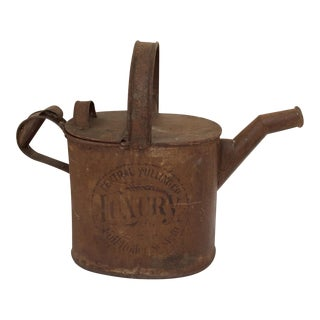 Antique Mercantile Watering Can For Sale