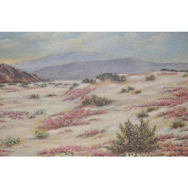 Elizabeth Hewlett Watkins California Desert Landscape Painting - Image 4 of 10