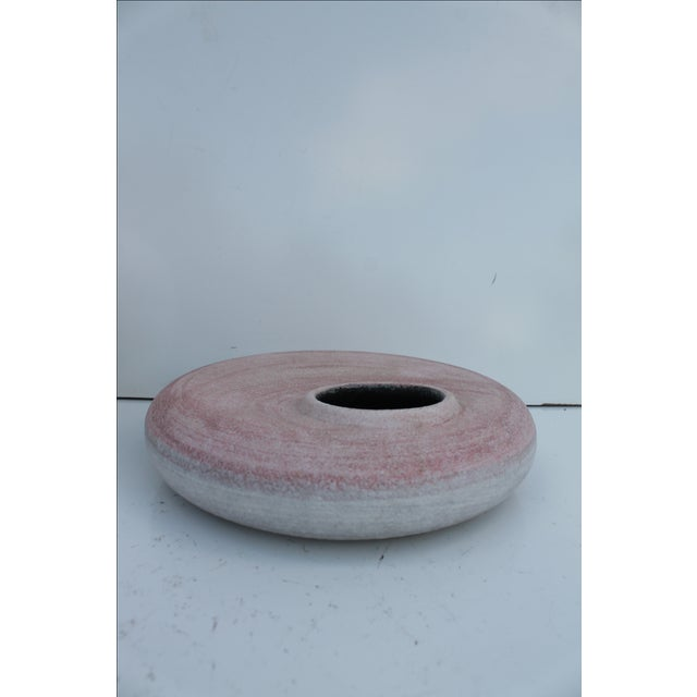 Pink Glazed Studio Pottery Vases - A Pair - Image 5 of 7