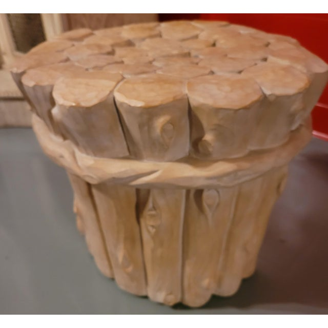 1960s Vintage Carsuke Faux Bois Coffee Table For Sale - Image 5 of 8
