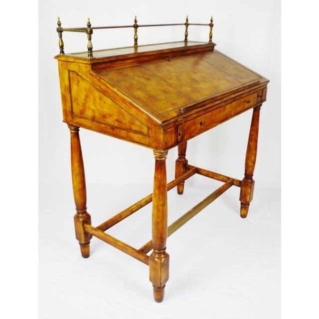 Vintage Thomasville Ernest Hemingway Desk & Chair Set For Sale In Philadelphia - Image 6 of 10