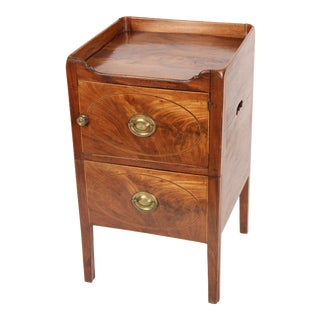 George III Mahogany Bedside Commode For Sale