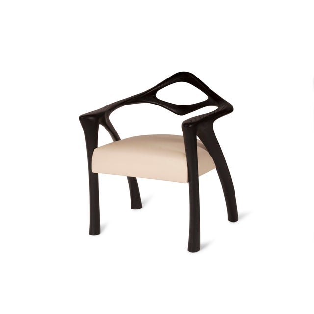 Amorph Darcey Dining Chair in Ebony Stain For Sale In Los Angeles - Image 6 of 10