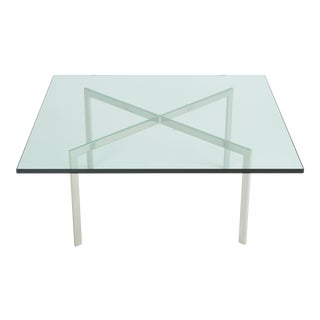 Barcelona Coffee Table by Ludwig Mies Van Der Rohe for Knoll For Sale