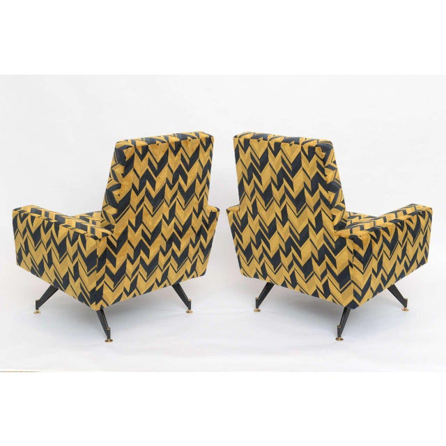 Original Pair of Lounge Chairs by Osvaldo Borsani - Image 6 of 6