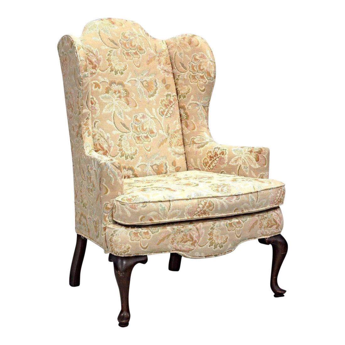 Woodmark Originals Queen Anne Style Wing Back Armchair ...