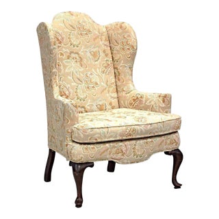 Woodmark Originals Queen Anne Style Wing Back Armchair Chair