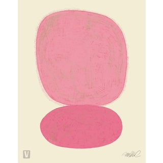 Pink Over Pink Original Giclee Print For Sale