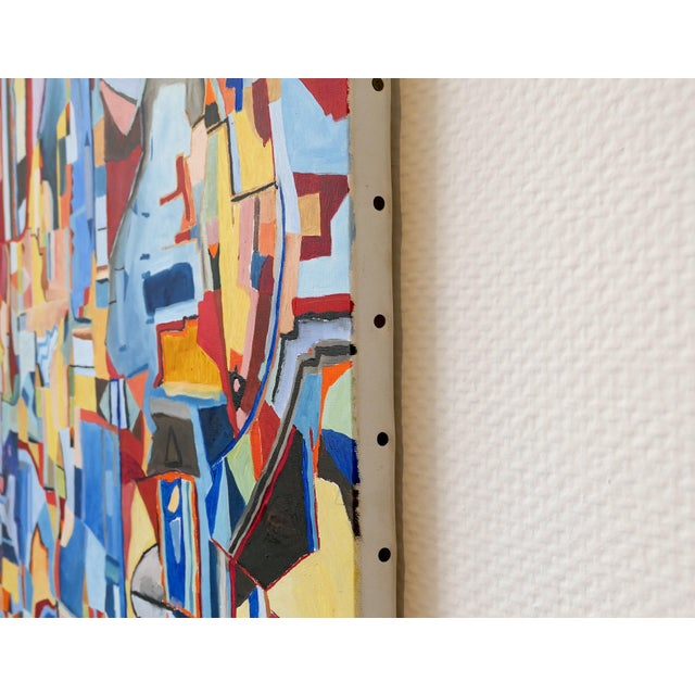 "Jeremie Iordanoff ""Untitled 248"", Painting For Sale - Image 6 of 7"
