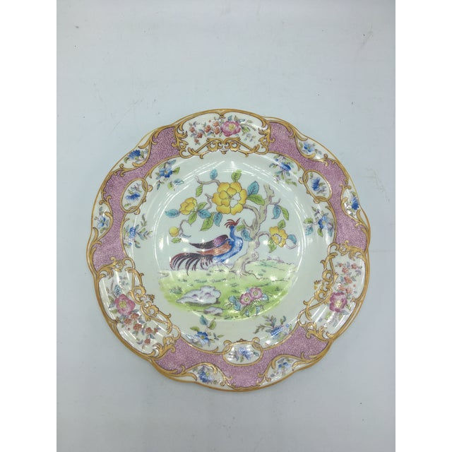 Vintage Coalport Chinoiserie Plate For Sale In Charleston - Image 6 of 6