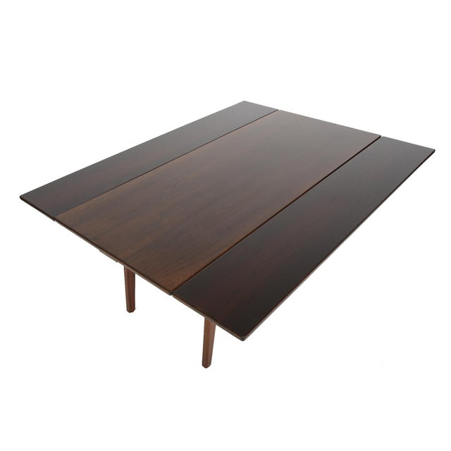 Danish Modern Rosewood Elevation Coffee Table - Image 3 of 8