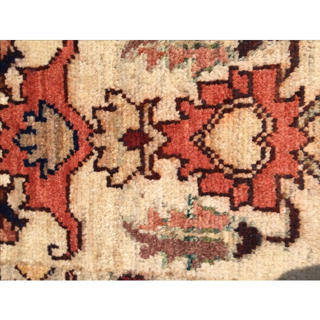 Sultanabad Persian Rug - 1′4″ × 1′11″ - Image 6 of 10