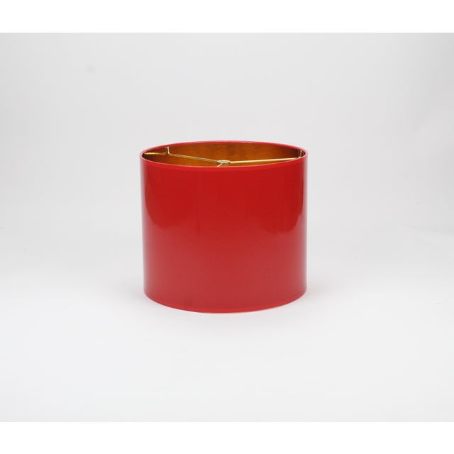 Made To Order: 1-2 week lead time Individually hand-made to order Exterior Color: Red (Pantone 1805) Interior Color: Gold...