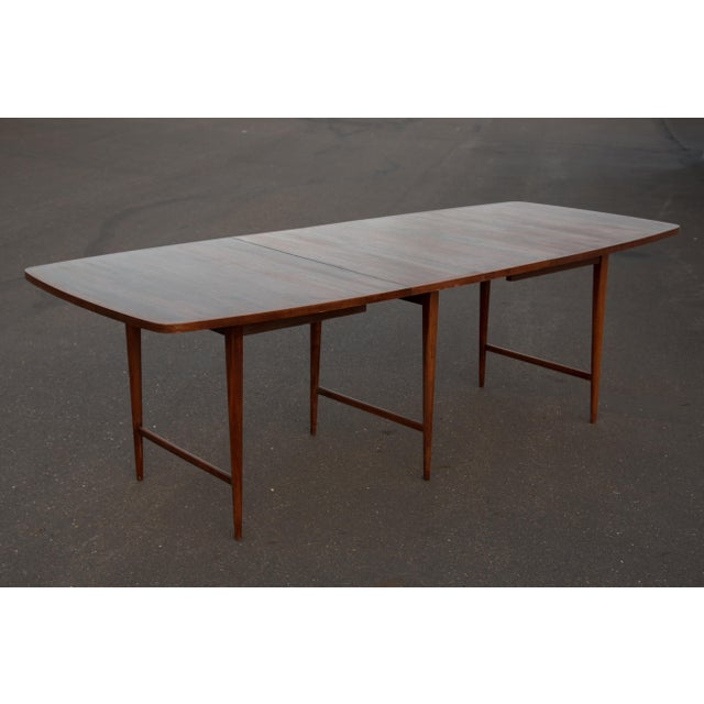 Rosewood 1960s Mid-Century Modern Paul McCobb Rosewood Lane Delineator Series Dining Table For Sale - Image 7 of 10