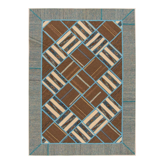 "Apadana - Persian Flat-weave, 5'6"" x 7'9"" - Image 1 of 4"
