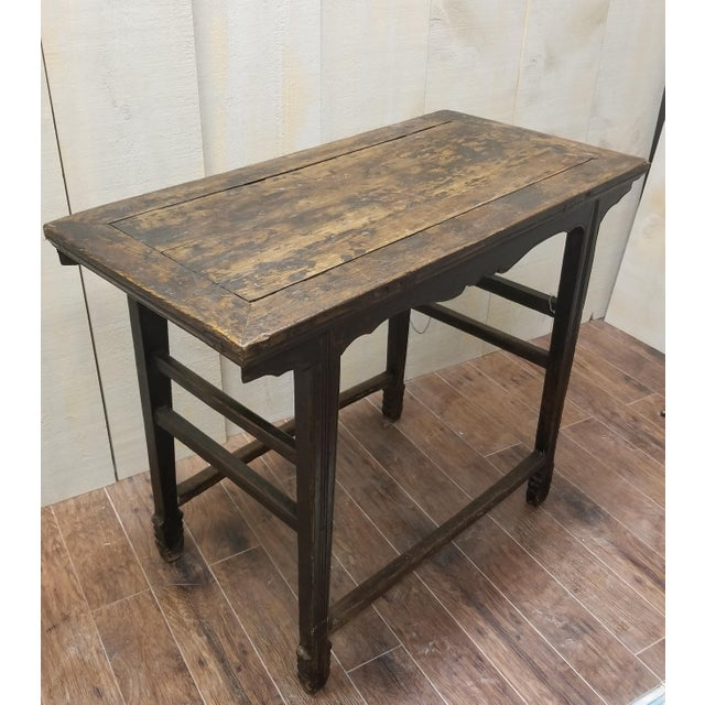 Chinese 1860 Chinese Shanxi Province Wine Table For Sale - Image 3 of 5