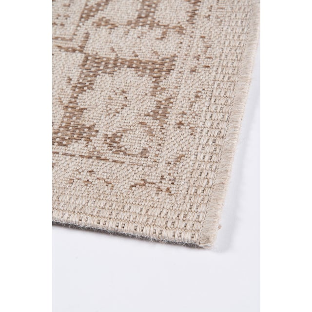 "Fiber Erin Gates Downeast Brunswick Beige Machine Made Polypropylene Area Rug 3'11"" X 5'7"" For Sale - Image 7 of 10"