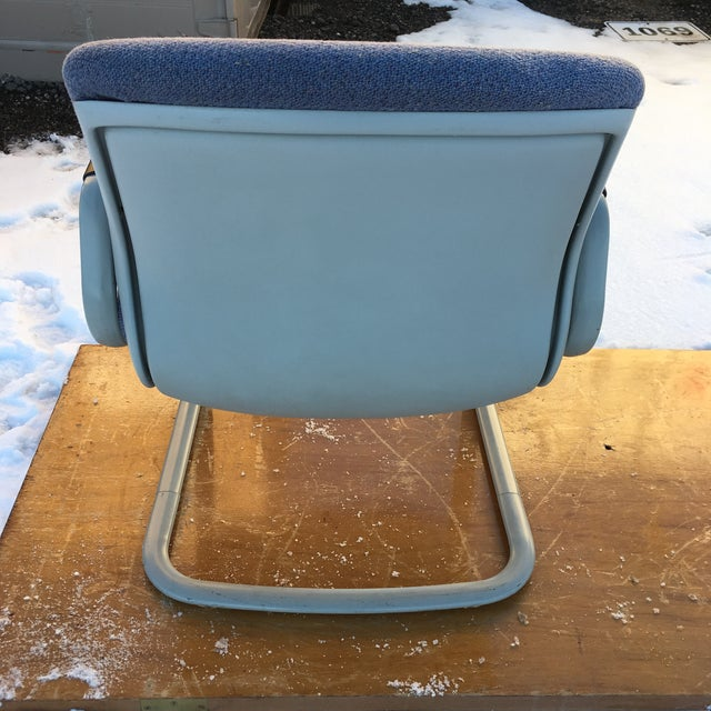 Steelcase 1980s Cantilever Armchair by Steelcase For Sale - Image 4 of 12